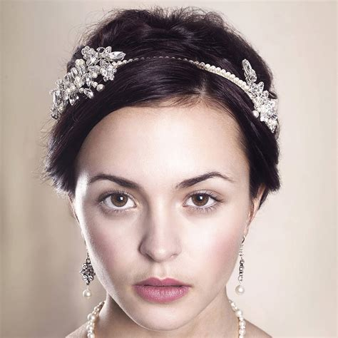 Handmade Headpieces - handmade astra wedding headpiece by rosie willett designs