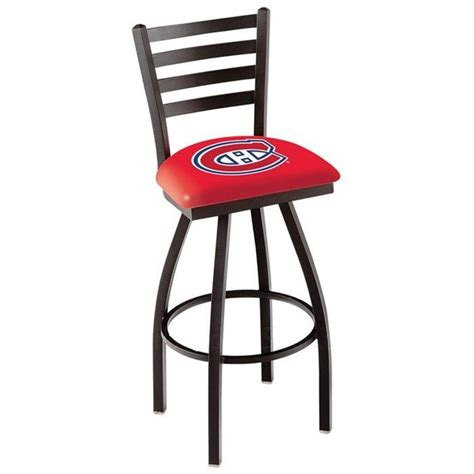 sports bar stools with backs montreal canadiens nhl ladder back bar stool logos bar stools with backs and stools with backs