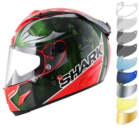 Visor Shark Race R Pro Shark Race R Pro Sykes Replica Motorcycle Helmet Visor