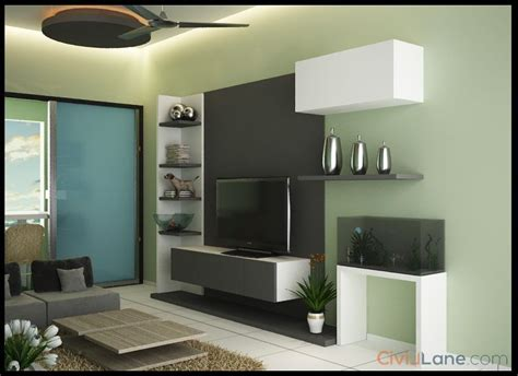 bhk flat furniture design decor design ideas