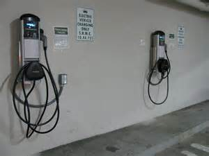 Electric Car Charging Station Santa Vehicle Charging Stations Power Up For Earth Day