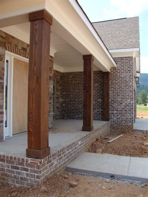 diy porch column wraps and column repair picmia