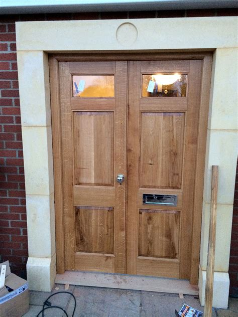 Solid Oak Front Doors Solid Wood External Doors The Norfolk Carpenter