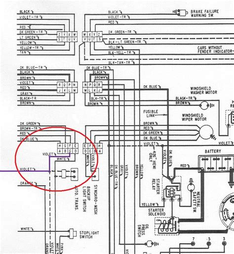 mopar neutral safety switch wiring diagram c6 neutral