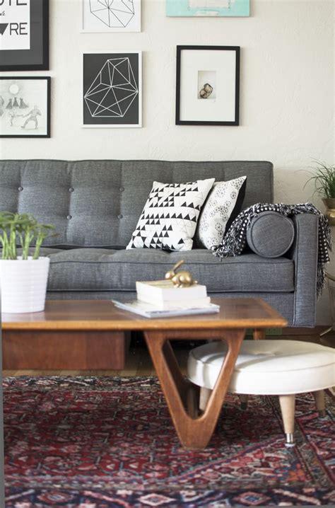 rugs for grey sofa vintage persian rug floor space pinterest