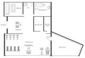 Gym Floor Plans Gym And Spa Area Plans Gym Floor Plan Gym Layout Plan