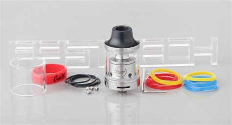 Mage Rta Stainless Steel Authentic 24mm 22 99 authentic coilart mage rta rebuildable tank atomizer 3 5ml 304 stainless steel