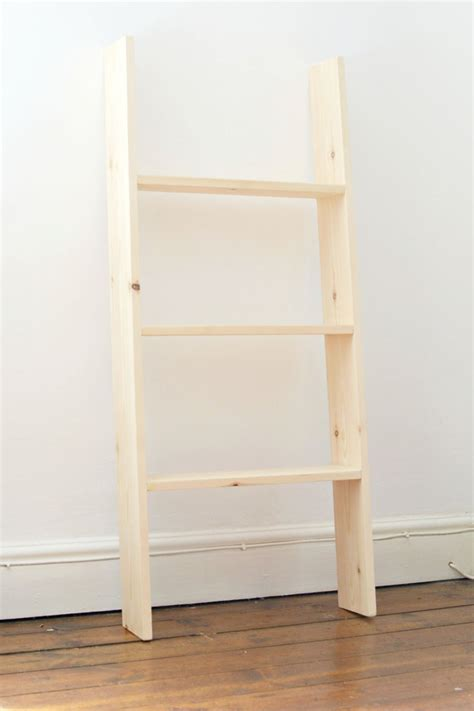 Diy Ladder Bookcase 24 Ladder Bookshelf Plans Guide Patterns