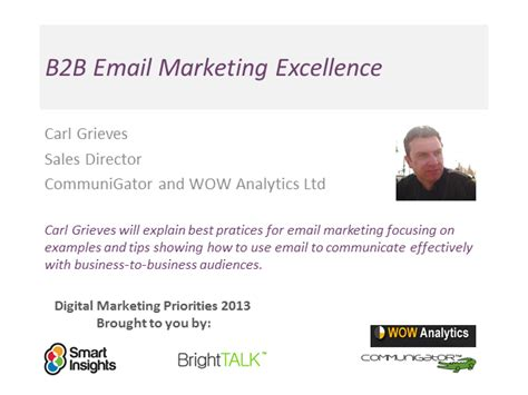Email Marketing 2 by B2b Email Marketing Excellence