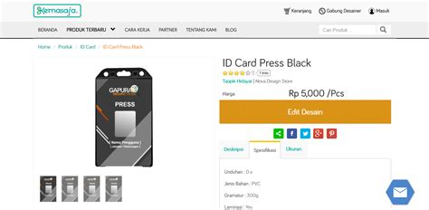 membuat id card bandung cetak kemasan produk bandung tutorial membuat desain id