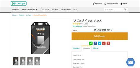 cara membuat id card edit cetak kemasan produk bandung tutorial membuat desain id