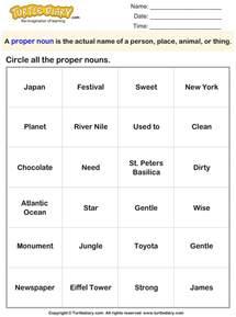 proper noun and common noun worksheet abitlikethis