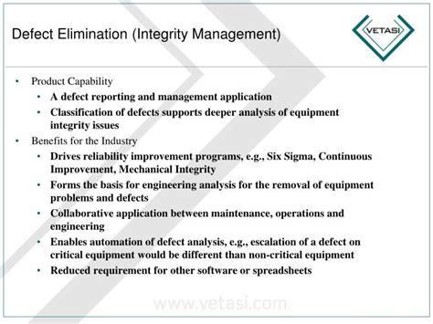 Ppt Maximo Oil Gas Powerpoint Presentation Id 6744425 Mechanical Integrity Program Template