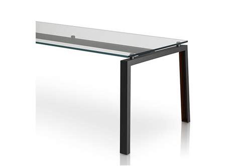 porro tavoli ipe porro tavolo con piano in cristallo milia shop