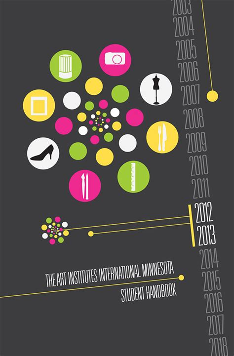 cover design handbook student handbook cover design on behance