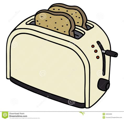 toaster stock vector image 40894688