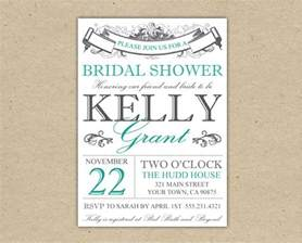 invitation for bridal shower templates bridal shower invitation templates madinbelgrade