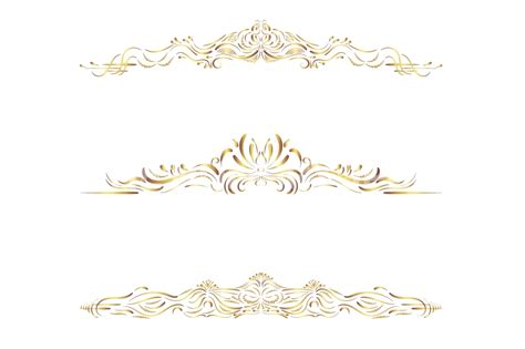 gold wedding clipart gold text divider clipart gold borders and frames clip