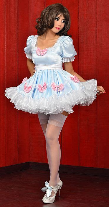 bee bee satin sissy dress 36 best images about frilly sissy dress on pinterest