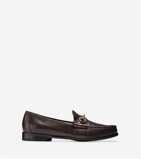cole haan brown loafer cole haan ascot bit loafer in brown for lyst