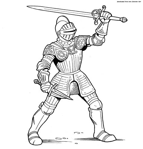 knights armor coloring pages warriors and knights colorator net сoloring pages for