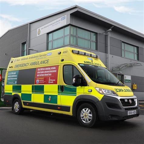 fiat fleet fiat ducato maxi chosen for new ambulance fleet
