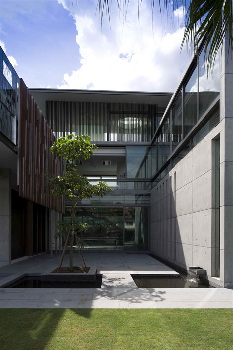 4 courtyard houses by think architecture gallery of the courtyard house ar43 architects 10