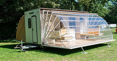 Motorhome Slide Out Awnings The Most Unique Camping Trailer You Ll Ever See Diy Cozy
