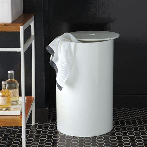 West Elm Bathroom Storage by White Lacquer Bath Her