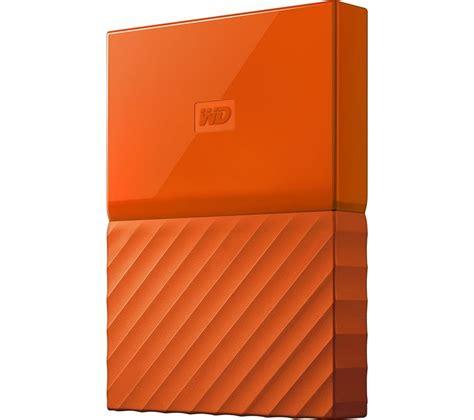 Hardisk Wd Passport 1 wd my passport portable drive 1 tb orange deals