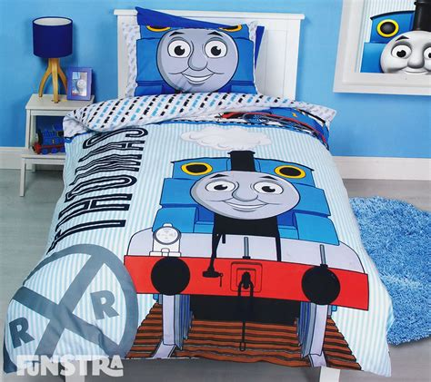 thomas and friends bedroom thomas the tank engine quilt doona duvet cover set boys bedding train friends ebay