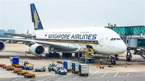 tripreport singapore airlines business class airbus  beijing singapore youtube