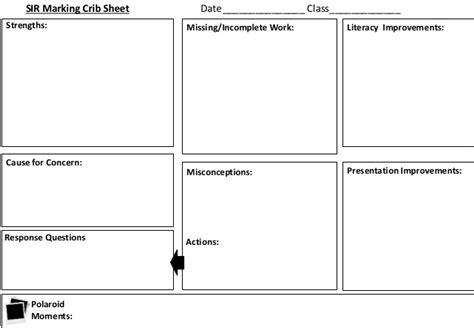 Crib Sheet Sizes by Marking Crib Sheet