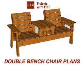 How To Build Patio Chairs Free Patio Chair Plans How To Build A Chair Bench With Table