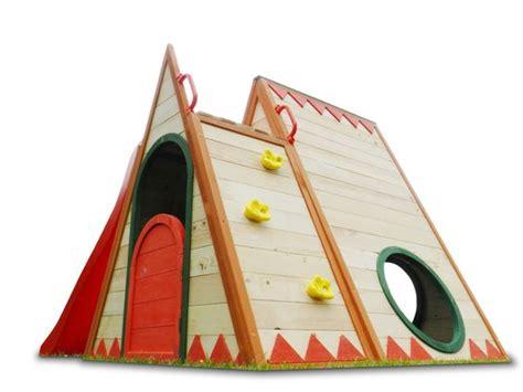 rutsche garten kinderspielhaus stelzenhaus aus holz mit rutsche