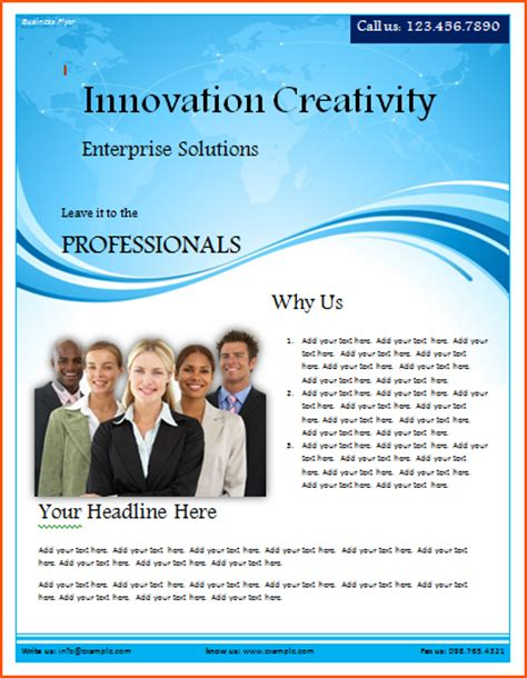 free word flyer template 8 free word flyer templates bookletemplate org