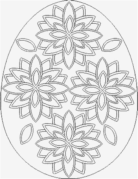 egg design coloring page easter pages to color coloring pages part 3