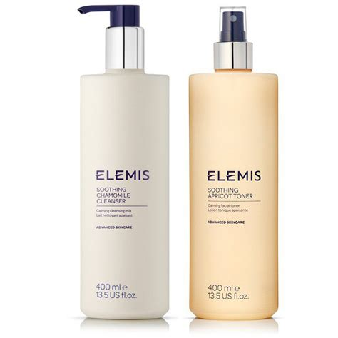 Elemis Detox Program by Elemis Size Soothing Cleanser Toner Duo Worth 163 84