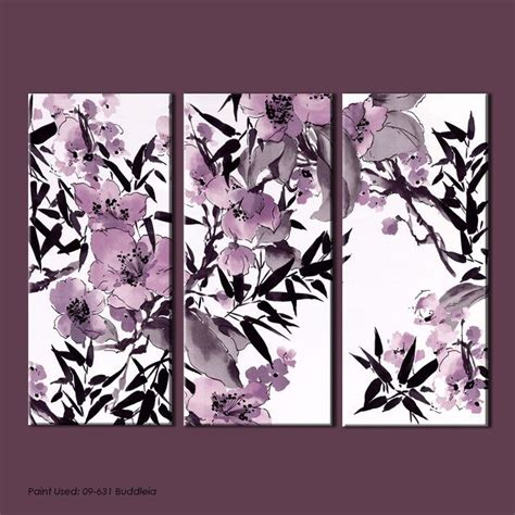 Blackmaster Purlple Brown monsoon wall collection floral wall coverings by