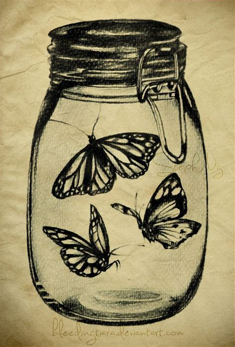 butterfly jar tattoo 25 best ideas about mason jar tattoo on pinterest