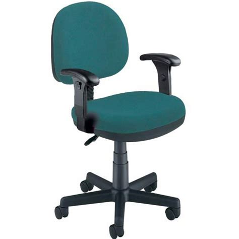 Teal Task Chair by Teal Fabric Lite Use Task Chair With Arms Ofm Office