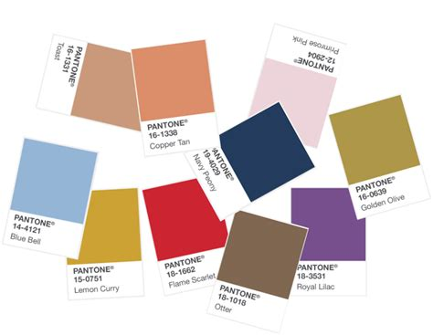 pantone colours 2017 how to use pantone s 2017 fall colour palette in interior