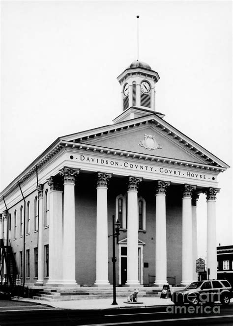Davidson County Courthouse Records Davidson County Courthouse 1 Photograph By M Lynch