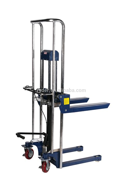 hydraulic pallet lift table hydraulic lifter stacker trolley table truck pallet jack