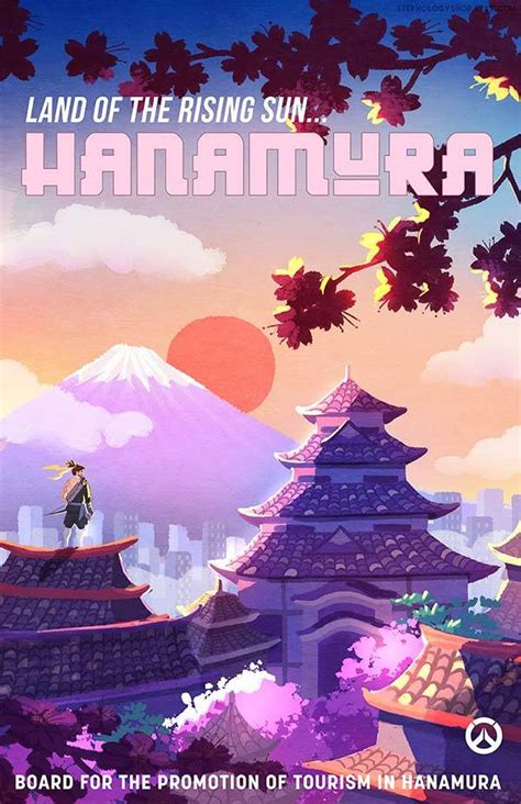 travel overwatch poster set highlights  iconic locations   game gadgetsin