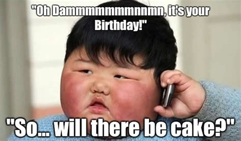 Baby Cake Meme - 42 most happy funny birthday pictures images
