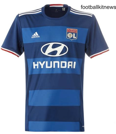 Jersey Go Lyon Away 2nd new lyon jerseys 2016 17 ol adidas home away kits 16 17 football kit news new soccer jerseys