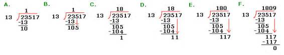 how to do teaching long division step by step