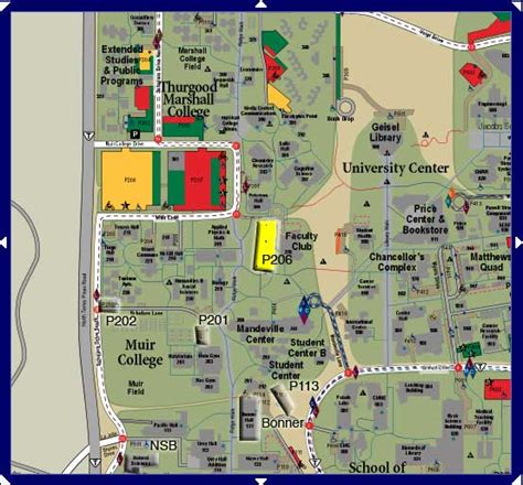 unf cus map ucsd cus map pictures to pin on pinsdaddy