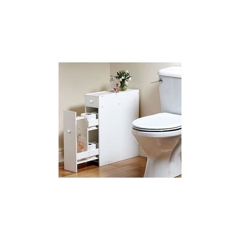 slimline space saving bathroom storage cupboard